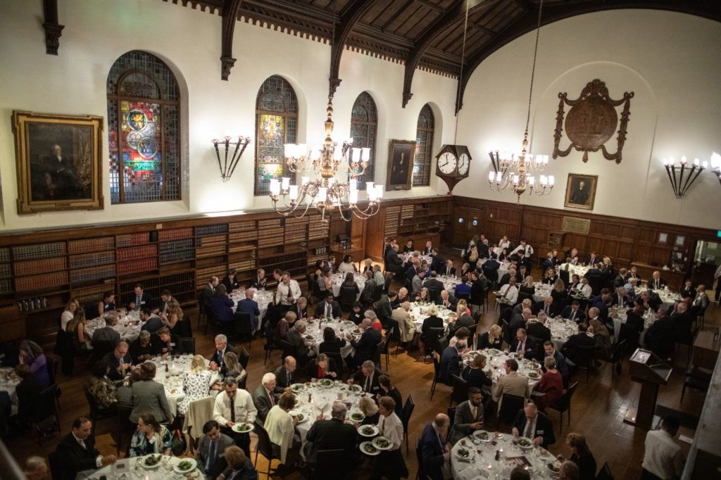 Bench Call and Dinner at Osgoode Hall