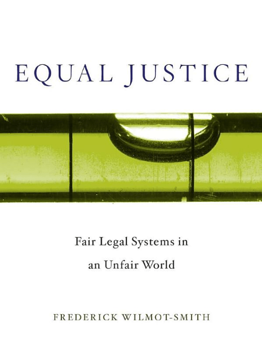 Equal justice book cover