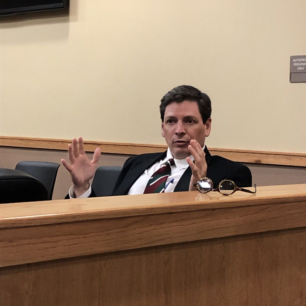 Judge Brad Letts