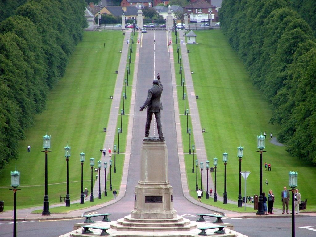 Statue of Sir Edward Carson