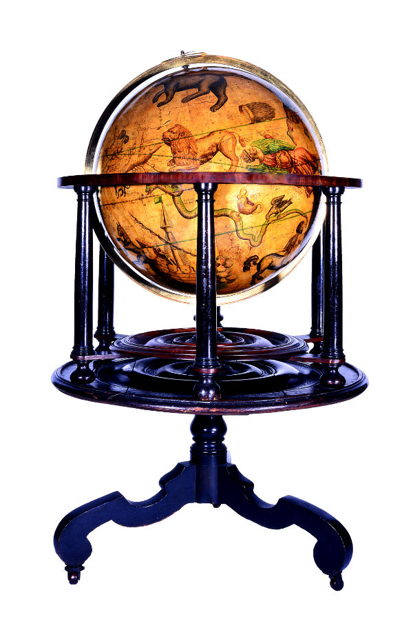 One of the Moyneux Globes