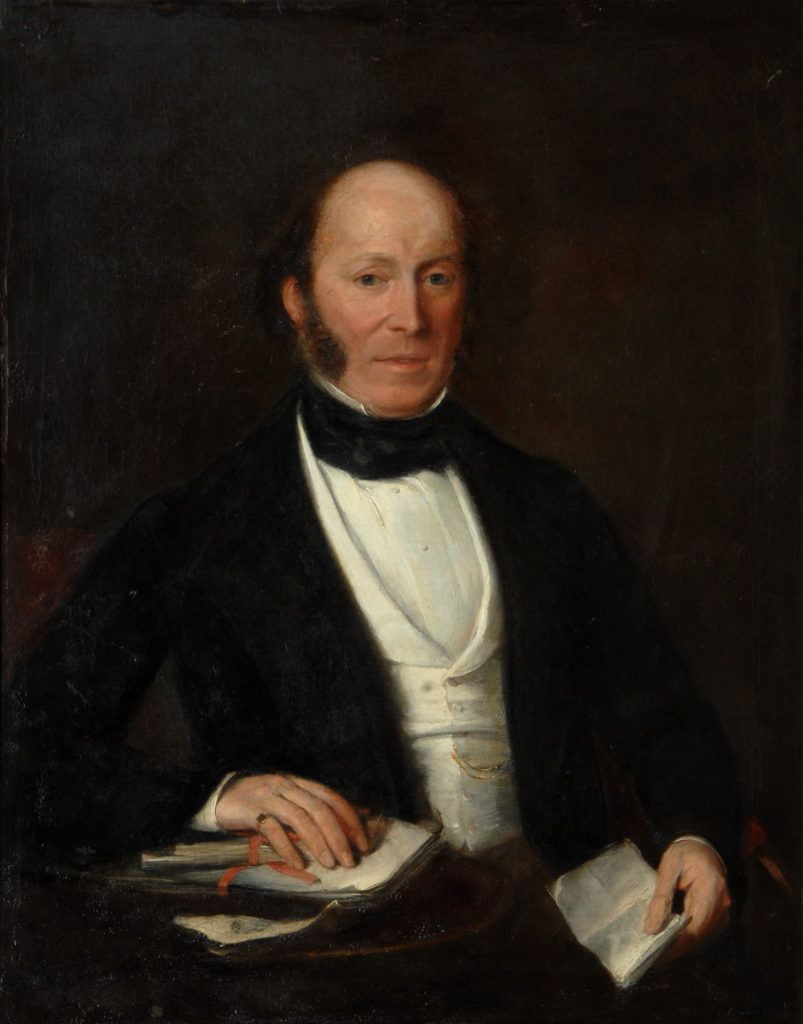 Portrait said to depict Mr Eldred