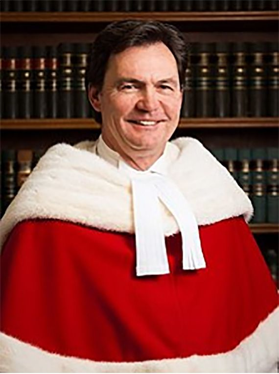 The Right Honourable Richard Wagner, Chief Justice of Canada