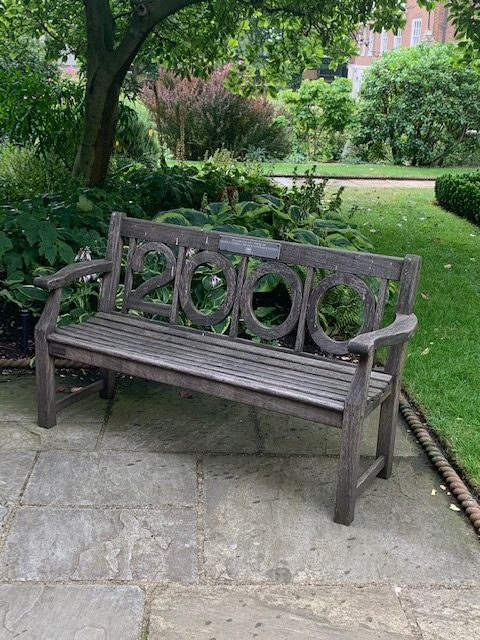 The Residents' Association Millennium Bench