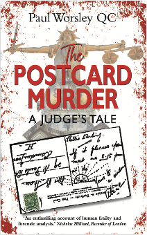 The postcard murder book cover