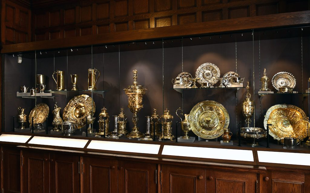 The New Silver Display Cabinets