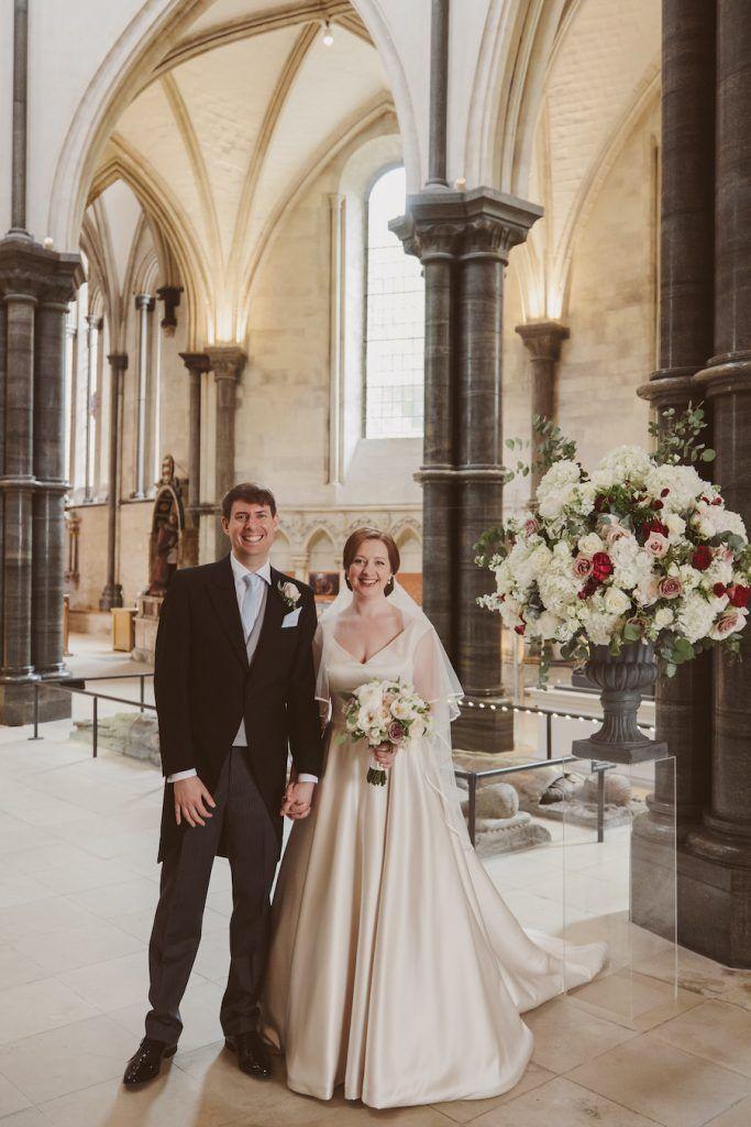 Andrew Robinson and Eleri Jones married on Saturday 3 July 2021 (© Nick Ray)