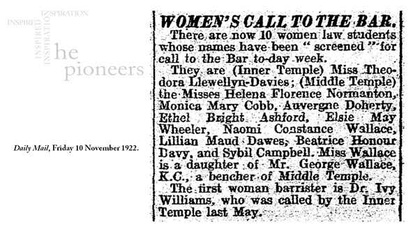 Daily Mail, Friday 10 November 1922