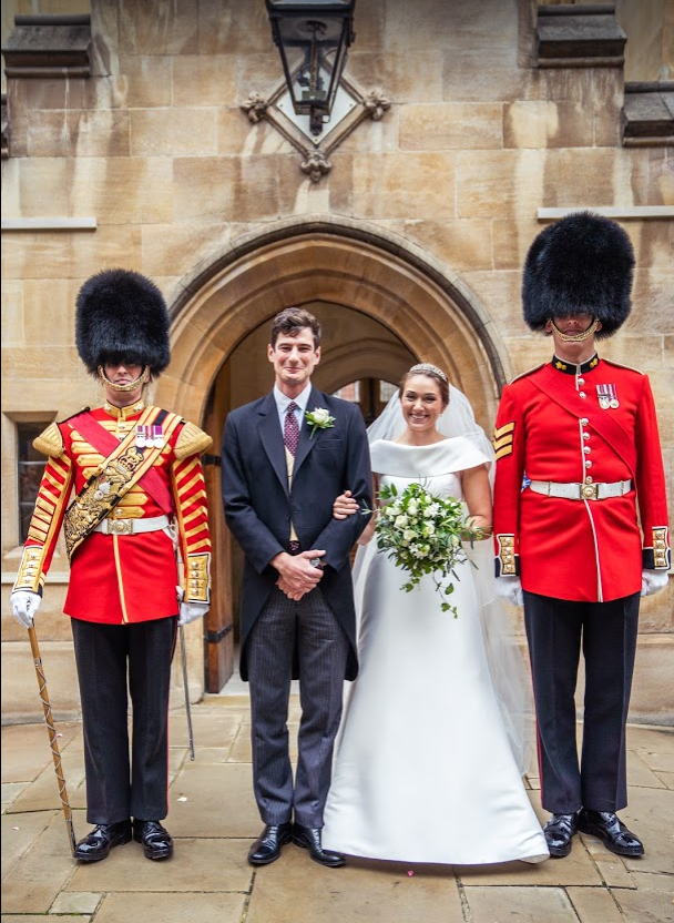 Eleanor Harbage and Thomas Bolitho married on Saturday 24 October 2020 (© Scott Collier)