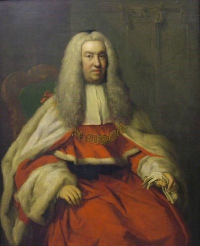 Sir Thomas Reeve (1672.3 -1737) by Jacopo Amigoni, 1736 - Craves Art Gallery, Sheffield