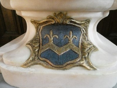The Coat of Arms after treatment