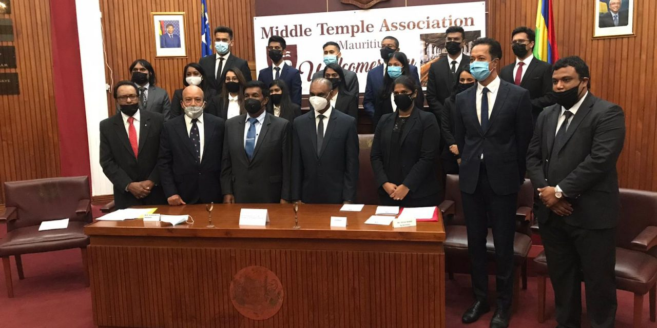 The Middle Temple Association in Mauritius